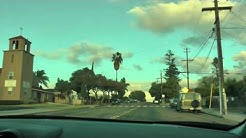 driving in National City, California (south of San Diego)