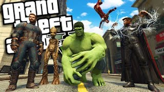 The NEW Avengers: Endgame MOD (GTA 5 PC Mods Gameplay)