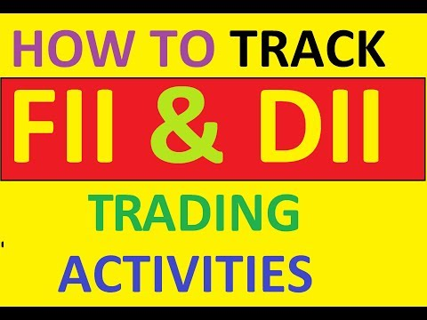 How to Track FII & DII Trading Activities