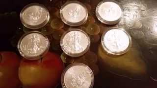 OPEN! SILVER EAGLE GIVEAWAY! 7 OUNCES! 500 SUBSCRIBER CONTEST!