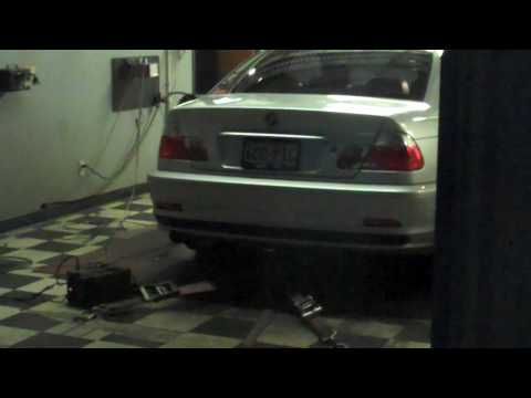 2003 330Ci Dyno With Schrick Cams