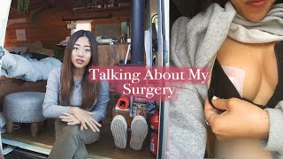 Back From Social Media Break–Opening Up About My Surgery