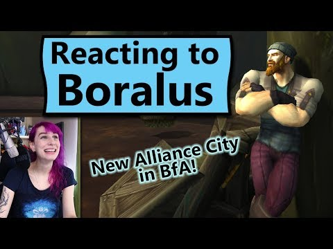 Boralus Reactions, Walkthrough and Preview from the Battle for Azeroth Alpha