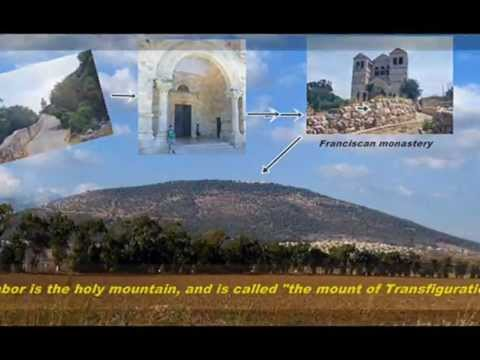Trip to Mt  Tabor, Jordan River, Nazareth & Jacob's Well