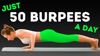 I Did Just 50 Burpees A Day, Here's What Happened In A Month