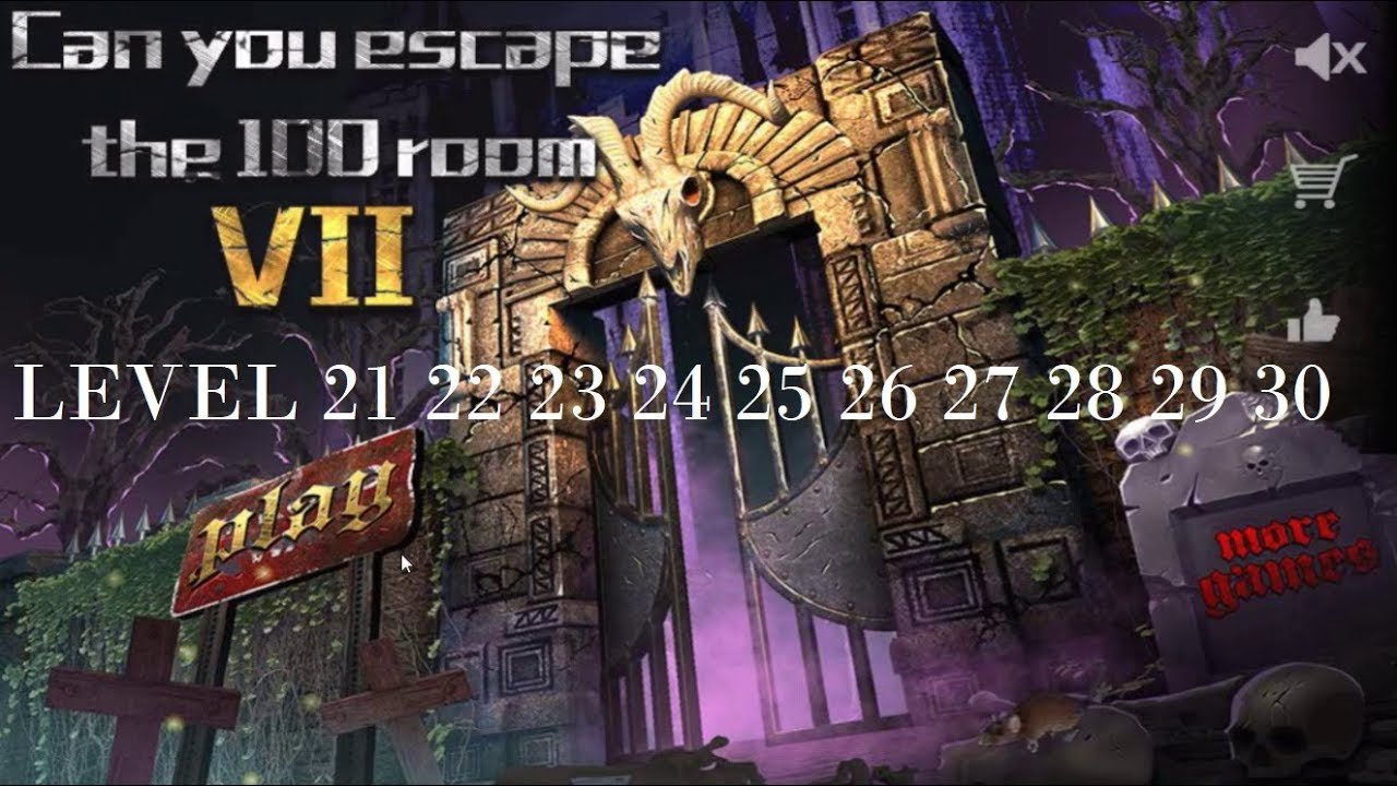 Can You Escape The 100 Rooms VII level 21 22 23 24 25 26 27 28 29  30 #1