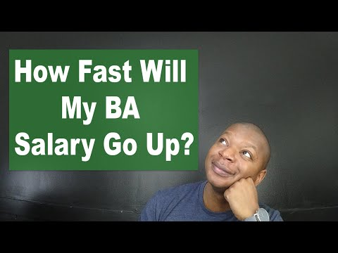 Ask A Business Analysts: How Fast Will My BA Salary Grow?