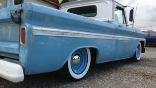 1965 Chevy C-10 Rat Rod Truck Lowered classic crusier hot rod review video