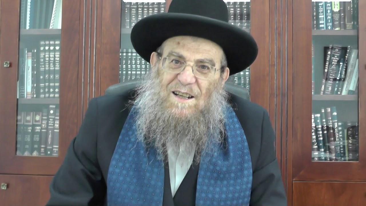 """הגאון הגדול הרב יצחק ברדא שליט""""א - פרשת קדושים"""