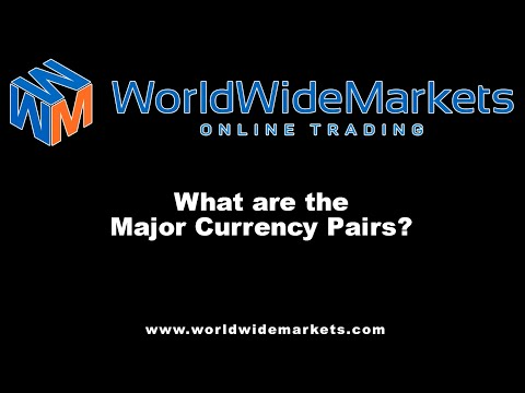 AlphaTrader - What are the Major Currency Pairs?