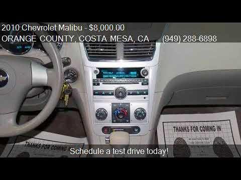 2010 Chevrolet Malibu LS 4dr Sedan for sale in ORANGE COUNTY