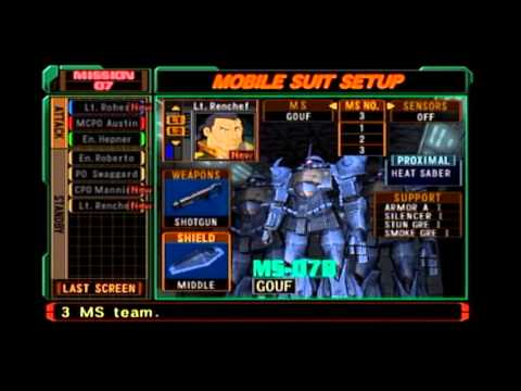 Mobile Suit Gundam: Zeonic Front - Mission 07: Defend Odessa
