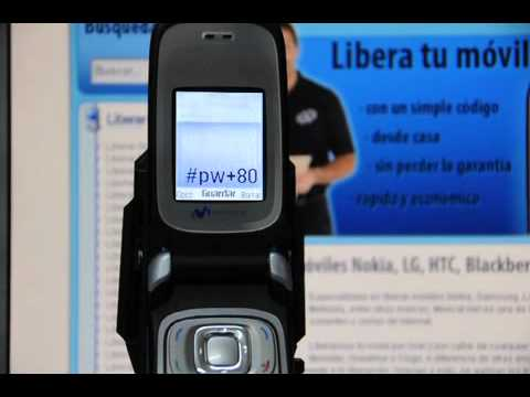 Liberar Nokia 6085, desbloquear Nokia 6085 de Movistar ...