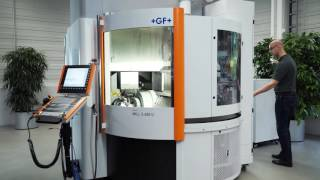 Milling - Mikron MILL S 400 - High speed milling in compact format -