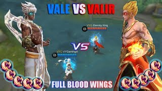 VALE VS VALIR FULL BLOOD WINGS APA YANG TERJADI KETIKA ANGIN MELAWAN API ?!? MOBILE LEGENDS