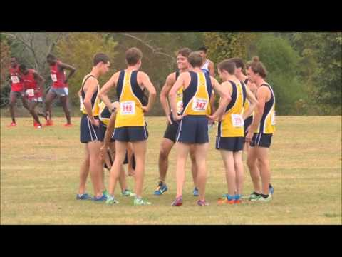 Mississippi College Cross Country, Gulf South Conference - October 24, 2015