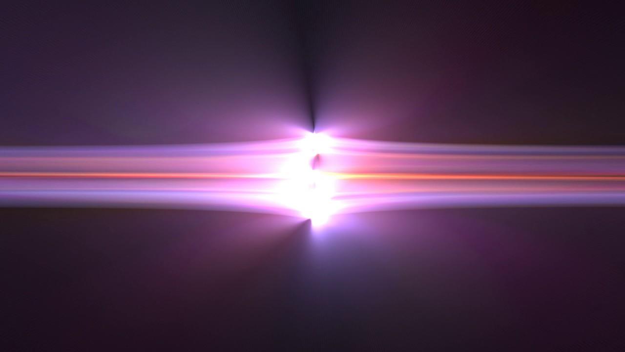 Horizontal Light Bursts 2160p Motion Vj