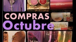 ♥COMPRAS DE OCTUBREEE!