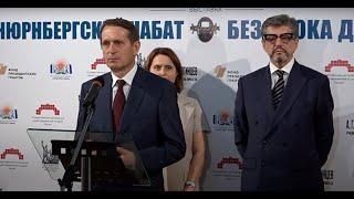 В ГЦМСИР открылась выставка к 75 летию начала «Суда народов»