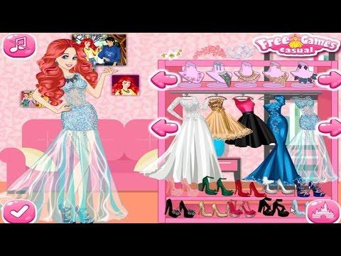 Disney Princess Wedding Dress Up Game