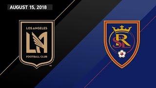 HIGHLIGHTS: Los Angeles Football Club vs. Real Salt Lake   August 15, 2018