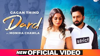 Dard (Official Video) | Gagan Thind Ft Monika Chawla | Latest Punjabi Song 2020 | Speed Records