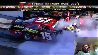 """Every Red Flag: 2012 NASCAR Sprint Cup Series"" Reaction!!"