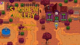 Stardew Valley Speedrun   Community Center% Glitchless in 2:46:00 [WR]