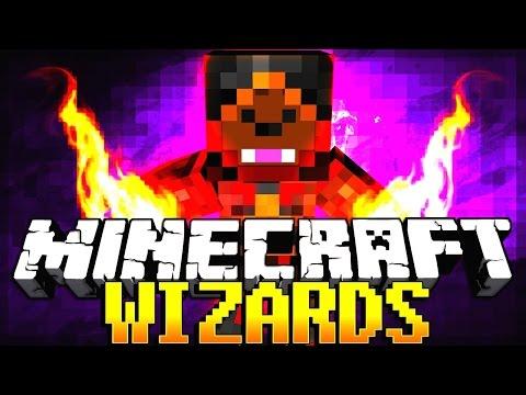 Minecraft Wizards Mod + Spells Mod + Magic Mod (Harry Potter Wands Mod)