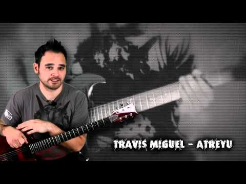 ESP LTD Viper 100 FM Giveaway Signed  Travis Miguel From Atreyu