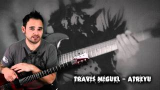 ESP LTD Viper 100 FM Giveaway Signed By Travis Miguel From Atreyu