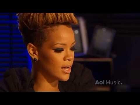 Rihanna - AOL Sessions 2010 - Interview (HQ)