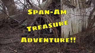 Spanish American War Camp Metal Detecting Adventure