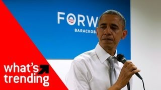 Obama Crying in Speech to Staff and Top YouTube Videos of 11/9/12