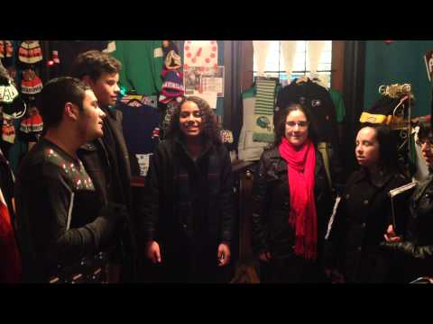 The William Tennent High School Midrigan Choir at The Monkeys Uncle