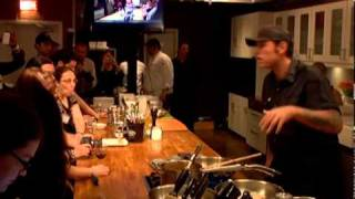 Iaminparty: Chuck Does His Cooking Demo With In Cuisin Products