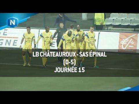 J15 : LB Châteauroux - SAS Épinal (0-5), le résumé