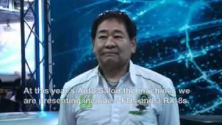 Mr.Amemiya is the president of Amemiya Racing. That's interviewed b...