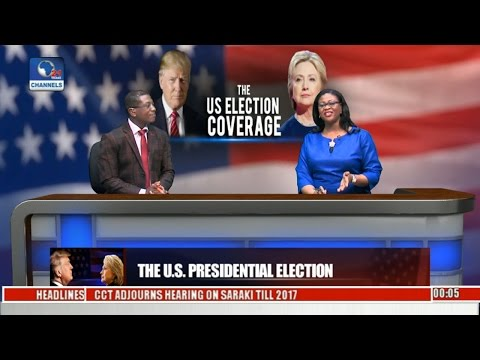 The U.S.  Election Coverage Live Pt 1