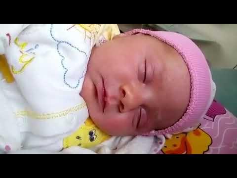 Newborn Baby Laughing At Sleep