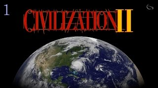 Let's Play Sid Meier's Civilization II - Emperor Aztecs  [ Civ 2 : Part 1 ]