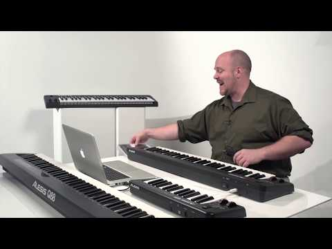 Getting Started with Alesis Q Series MIDI/USB Keyboard Controllers