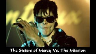 The Sisters of Mercy Vs. The Mission - Marian In Wasteland MetAmorPhosis (Project Kiss Kass Mashup)