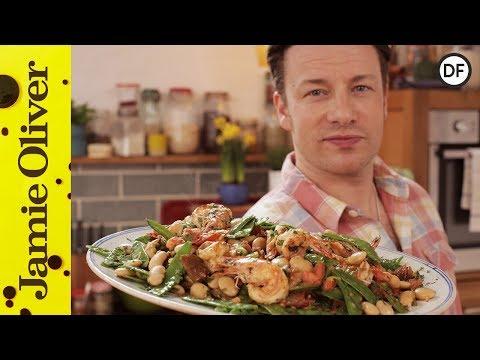 Healthy Pan Cooked Prawns   Jamie Oliver