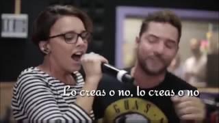 Lo Tenga O No - David Bisbal y Chenoa (letra)