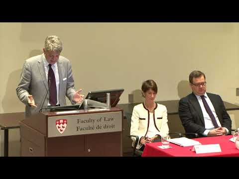 Brierley Lecture 2017 - International Dispute Resolution Cou
