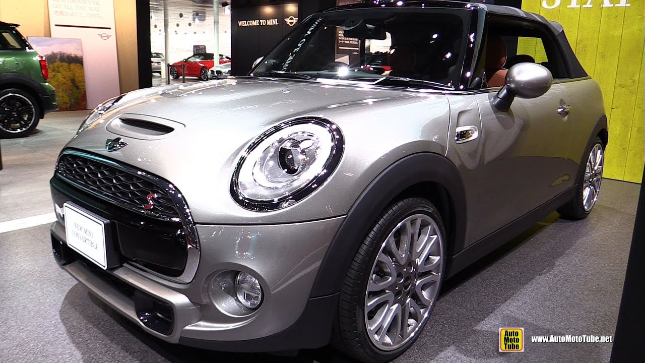 2016 mini cooper s convertible exterior and interior walkaround 2015 tokyo motor show youtube. Black Bedroom Furniture Sets. Home Design Ideas