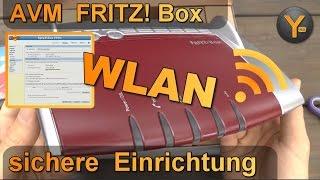 FRITZ! Box 7490: WLAN von A bis Z
