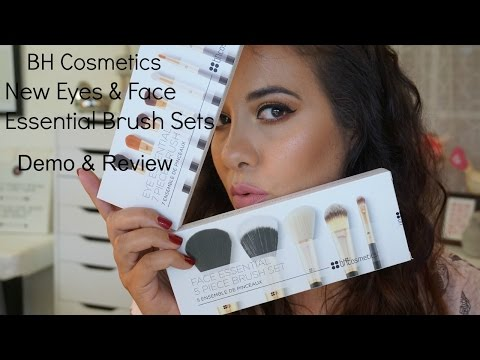 Full Face Makeup using BH Cosmetics Essential Brush set's Demo | Review