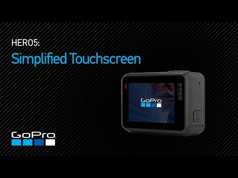 GoPro: HERO5 - Simplified Touchscreen